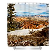 Across The Canyon Shower Curtain