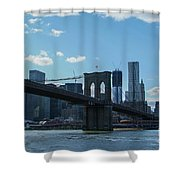 Across To Manhattan New York New York Shower Curtain