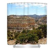Across Utah  Shower Curtain