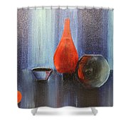 Acrylic 3d Msc 009 Shower Curtain