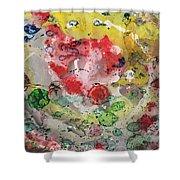Acrylic Abstract 15-u.uuu Shower Curtain