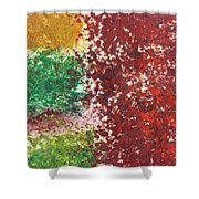 Acrylic Abstract 15-x.x.xx Shower Curtain