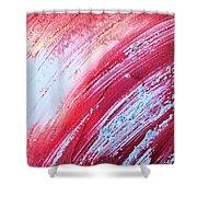 Acrylic Abstract On Canvas 6 Shower Curtain