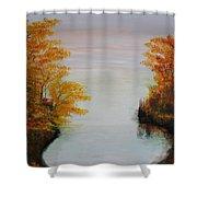 Acrylic Msc 064 Shower Curtain