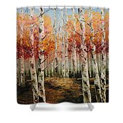 Acrylic Msc 096 Shower Curtain