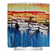 Acrylic Msc 112 Shower Curtain