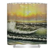 Acrylic Msc 148 Shower Curtain
