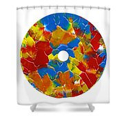 Acrylic  On  Cd  One Shower Curtain