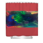 Acrylic Resin Pour 2871 Shower Curtain