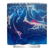 Acrylic Resin Pour Shower Curtain