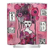 Acrylic Variations Kitri Shower Curtain
