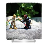 Action Figures Shower Curtain