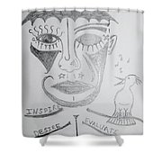 Action Plan  Shower Curtain