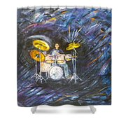 Action-reaction Shower Curtain