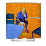 Activist At Rest Shower Curtain