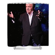 Actor And Comedian William Shatner Shower Curtain