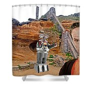 Actor Jonathan Harris As Dr Smith From Lost In Space II Shower Curtain