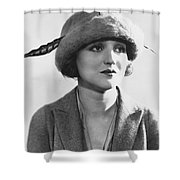 Actress Agnes Ayres Shower Curtain