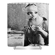 Actress Laura La Plante Shower Curtain