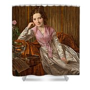 Actress Therese Krones Shower Curtain