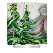 Acts Of Creation Shower Curtain