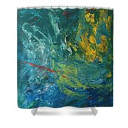 Ad-87j Nebula Shower Curtain