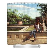 Adagio Shower Curtain