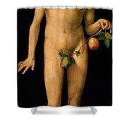 Adam Shower Curtain by Albrecht Duerer