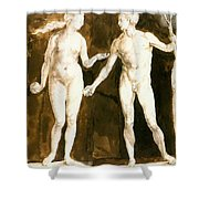 Adam And Eve 1504 Shower Curtain