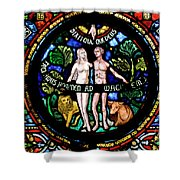 Adam And Eve, Dinant Shower Curtain