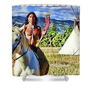 Adam Joaquin Gonzalez Shower Curtain