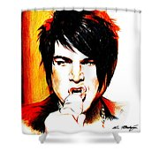 Adam Lambert Shower Curtain