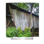 Adams/san Toy Covered Bridge  Shower Curtain