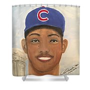 Addison Russell Shower Curtain