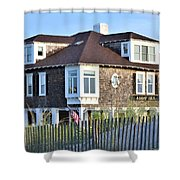Addy Sea Through The Dunes Shower Curtain