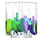 Adelaide Nsw-splash Shower Curtain