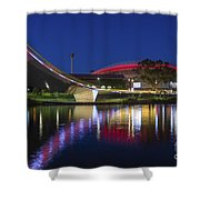 Adelaide Oval Elegance Shower Curtain