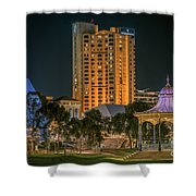Adelaide Riverfront Shower Curtain