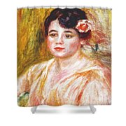 Adele Besson 1918 Shower Curtain