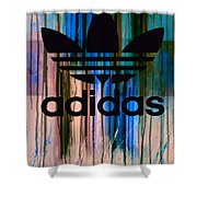 Adidas Plakative - Typografie 01 Shower Curtain