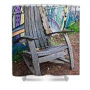 Adirondack Chair ? Shower Curtain