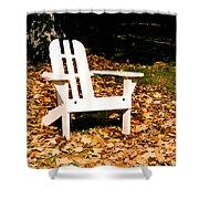 Adirondack Chair Shower Curtain