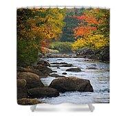 Adirondack Fall Stream 2 Shower Curtain