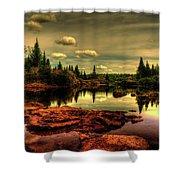 Adirondack Inlet Shower Curtain