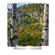 Adirondack Mountains New York Shower Curtain