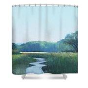 Adirondack Trail Shower Curtain