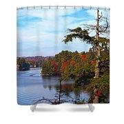 Adirondack View Shower Curtain