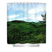 Adirondacks Shower Curtain