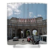 Admiralty Arch Shower Curtain