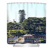 Admiralty House Shower Curtain